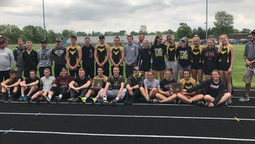 No sharing this time: Colonel Crawford boys, girls wins undisputed district titles