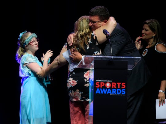 Special Olympics- Girl Athlete of the Year Alexis Wilcox