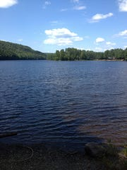 Wyman Lake didn't exist at the time of Benedict Arnold's expedition.