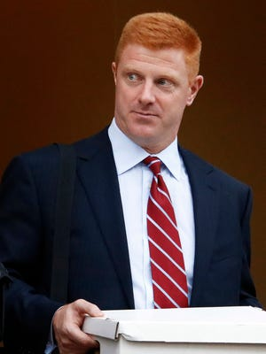 Former Penn State University assistant football coach Mike McQueary.