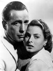 """They may not always have Paris, but they got Memphis: Humphrey Bogart and Ingrid Bergman star in """"Casablanca,"""" which screens outdoors Thursday at Overton Square."""