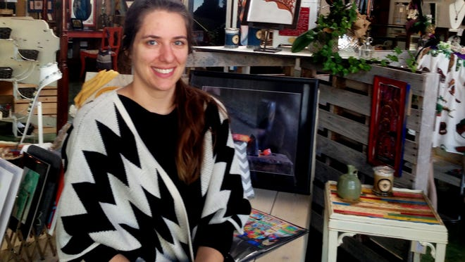 Agora Borealis owner Katy Larsen will host a trunk show this weekend as part of Small Business Saturday. Local artists and vendors will be present to price art and discuss their work.