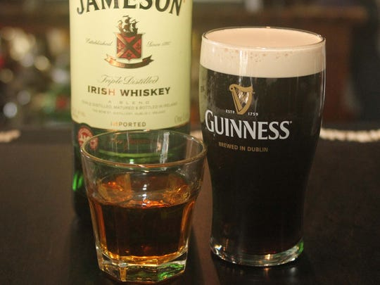 Guiness for St. Patricks' Day.
