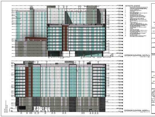 CA Ventures plans to build a 14-story student-housing