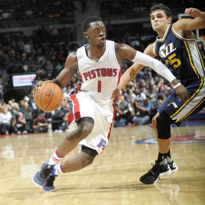 Reggie Jackson didn't play against the Nuggets, but he has embraced the role of the Pistons' floor leader.