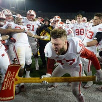 Badgers remain at No. 5 in playoff rankings but focus is on Gophers and the Axe
