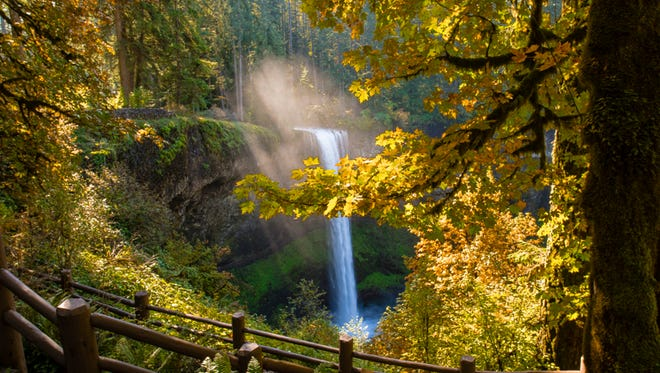 Photo by Joe Johnston. South Falls at Silver Falls State Park Oct. 4th 2013