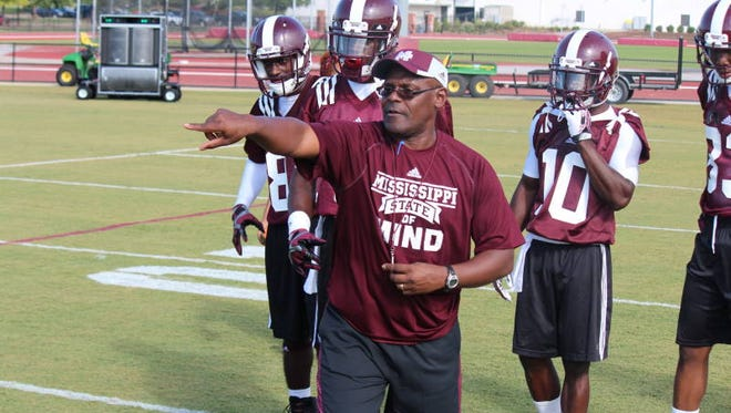 Mississippi State recruiting coordinator and assistant coach Tony Hughes.