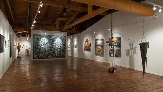 N'Namdi Center for Contemporary Art in Detroit in 2015.