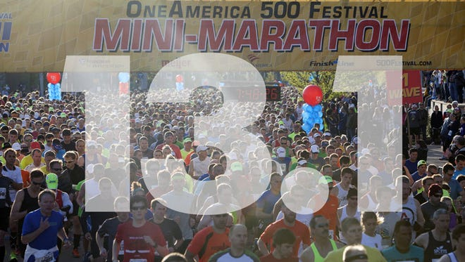 The Mini-Marathon is May 2.