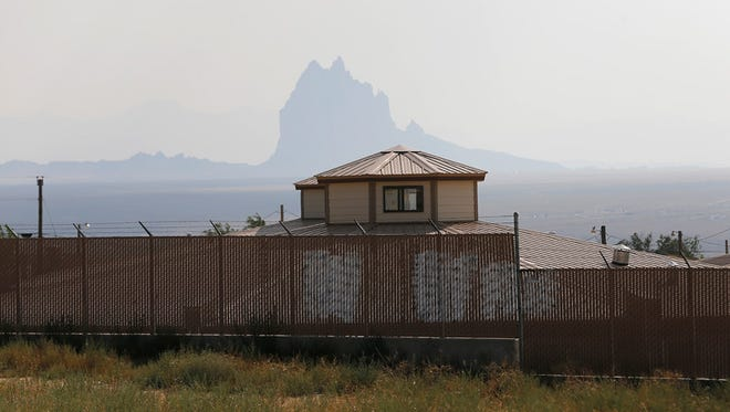 The Shiprock Home for Women and Children is seen in July in Shiprock.