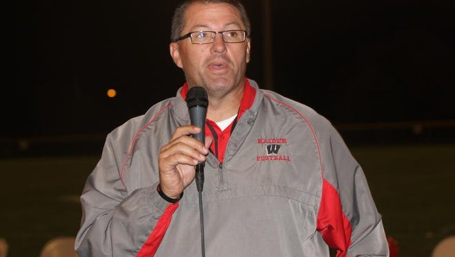 Coach Curt Ritchie predicts victory over South Tama.