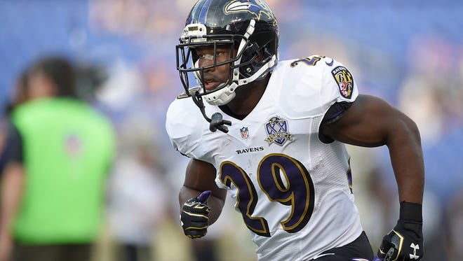 Baltimore Ravens running back Justin Forsett  will appear at Hanover Rotary Sports Night on Tuesday.