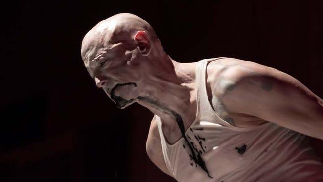Detroit-based performance artist Satori Circus performs in  2015.
