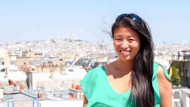 Edna Zhou, a York native, lives in Paris and was a block and half away from one of the sites of Friday's terrorist attacks.