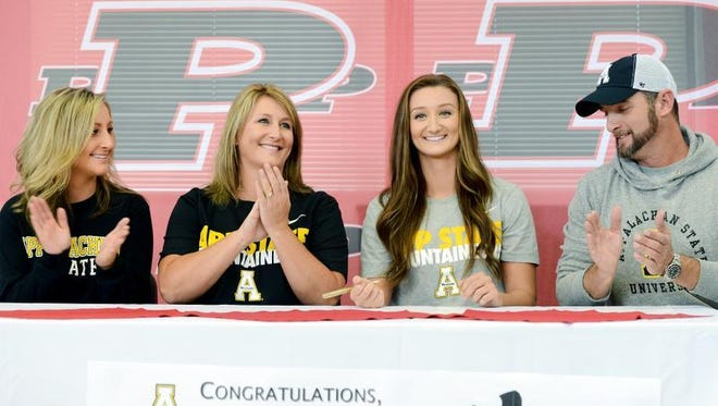 Pisgah senior Brooklyn Allen has signed to play college basketball for Appalachian State.