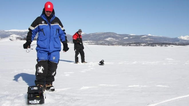 even at this late date, ice conditions are far from perfect. In some areas, warm weather is weakening the fledgling icepack, while in others, fresh snow is cloaking it with an insulating blanket that puts the brakes on the formation of new ice