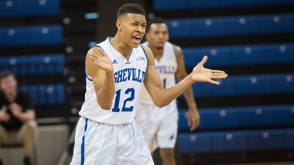 McDowell graduate Raekwon Miller is a sophomore guard for UNC Asheville.