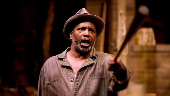 David Alan Anderson in IRT's 2016 production of Fences.