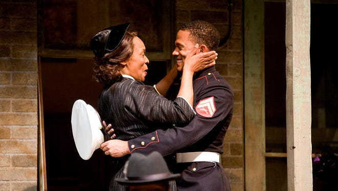 Kim Staunton and David Alan Anderson in IRT's 2016 production of Fences.