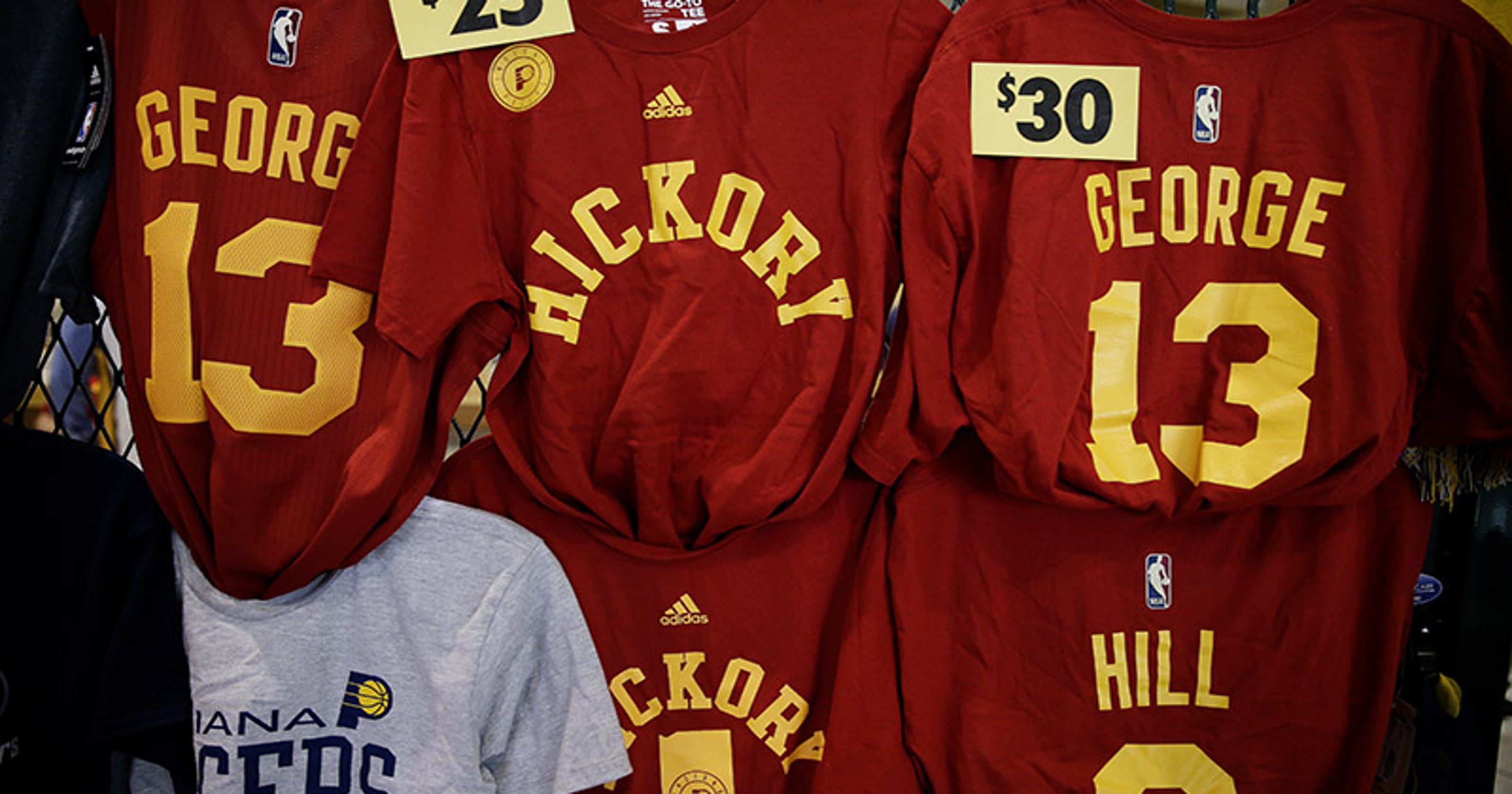 Pacers  Hickory branding exceeds expectations 3a7bfe52d
