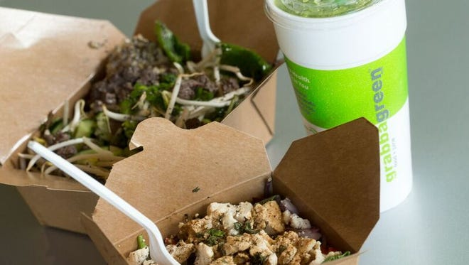 Arizona-based Grabbagreen plans to open at the Meridian Cool Springs development this summer.