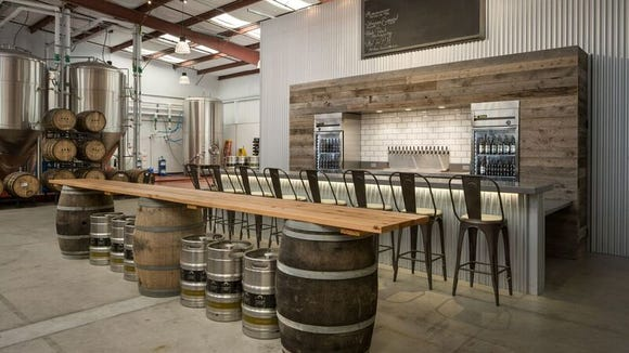 The new Alvarado Street Brewery & Grill's production brewery and tasting room in Salinas will offer 16 taps.