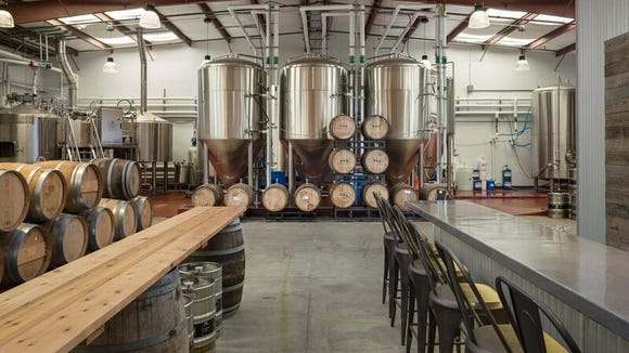 Visitors to the tasting room will be able to try beers right in the area where they are made.
