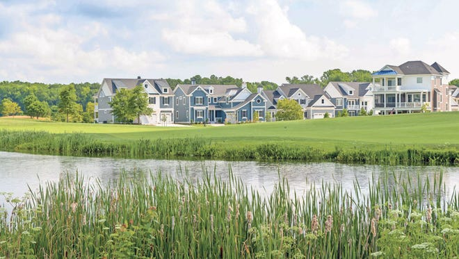 Bayside, a Schell Community built in Selbyville, Delaware. The builder is expanding outside of Delaware.