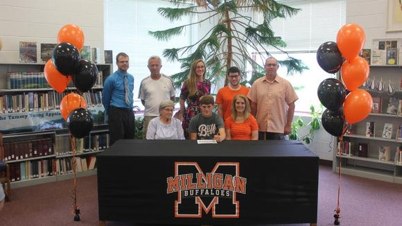 Owen senior Garret Welsh has signed to run college cross country and track for Milligan (Tenn.).