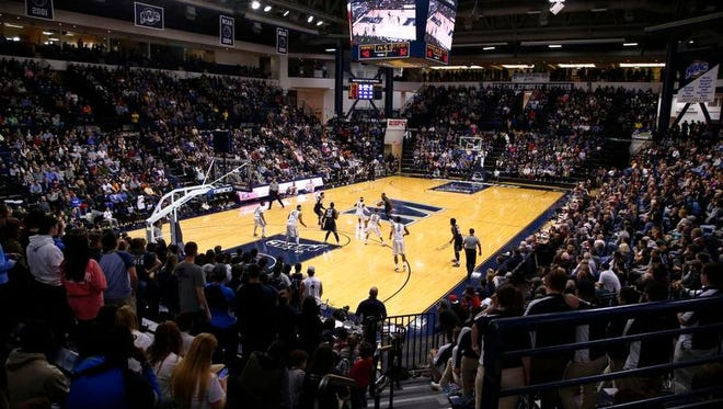 Monmouth University and OceanFirst Bank announced a 20-year, $4 million deal on naming rights for the Multipurpose Activity Center, which will now be known as OceanFirst Bank Center