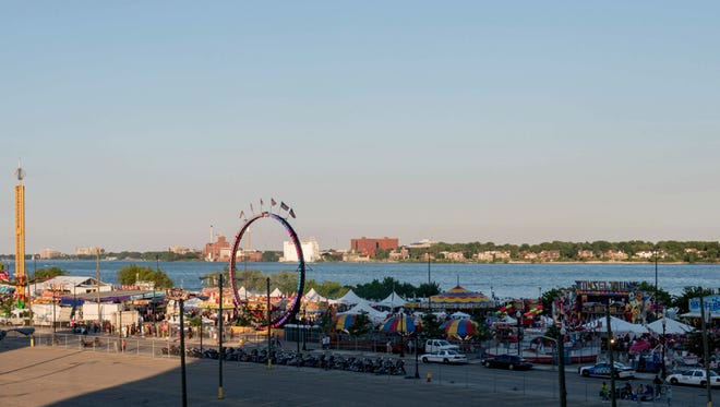 GM River Days, a celebration of Detroit's riverfront returns June 22-24. The event features activities, including live music, sand sculpting, carnival rides and local cuisine.