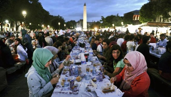 Iftar Dinner, celebrating Ramadan, June 30.