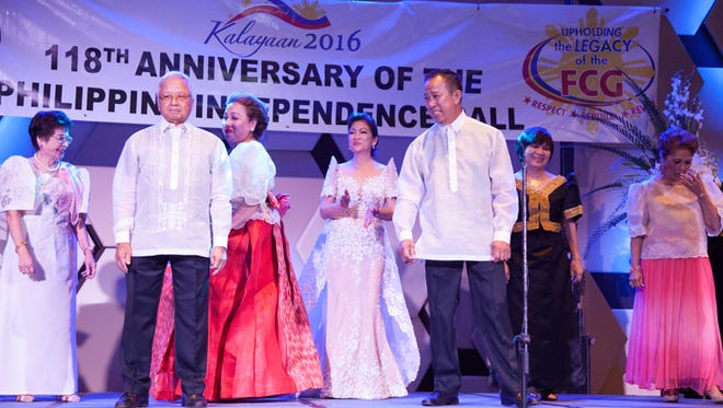 The Filipino Community of Guam hosted it's annual Philippine Independence Ball on June 18, 2016 at the Dusit Thani Resort to commemorate the 118th anniversary of the proclamation of Philippine Independence.