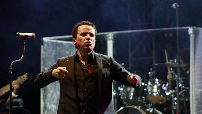 El cantante colombiano Fonseca.