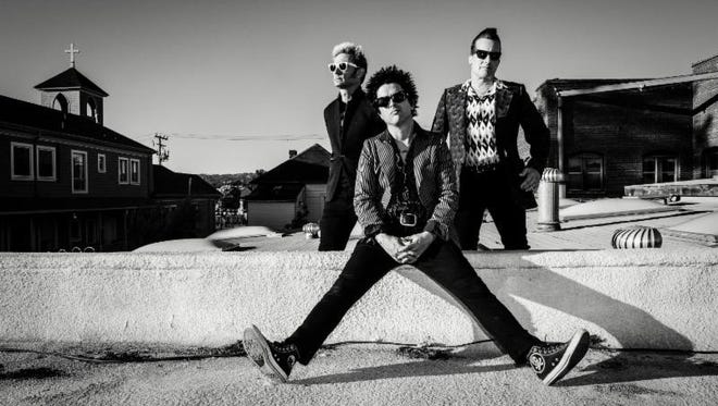The Grammy Award-winning and Rock 'n' Roll Hall of Fame inductees Green Day will perform at the El Paso County Coliseum on March 2.