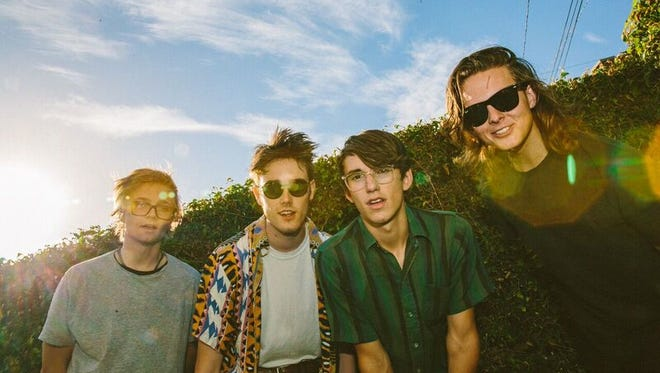 Hippo Campus, a small indie outfit by way of Minnesota, visits the Union Transfer Saturday night alongside Saint Motel.