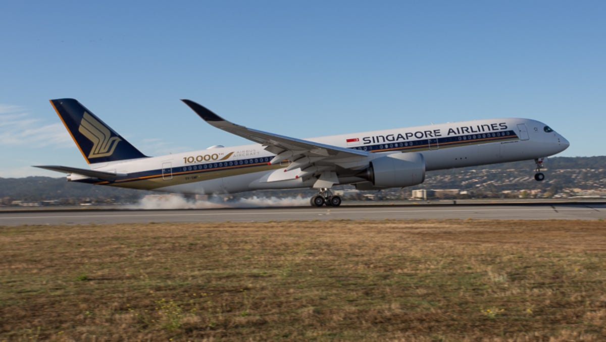 Singapore Air is again flying nonstop to USA from Singapore