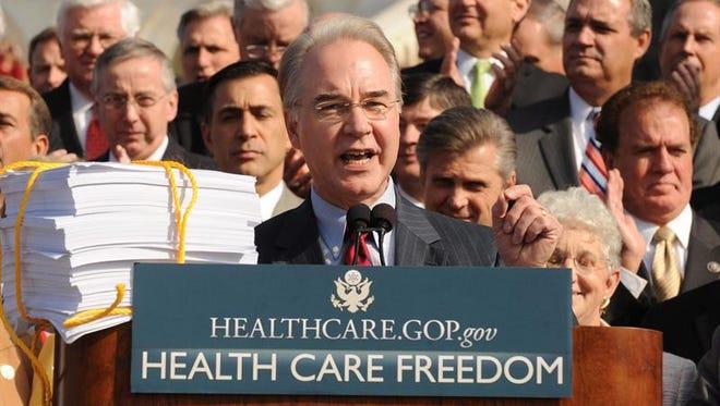 El congresista republicano Tom Price.