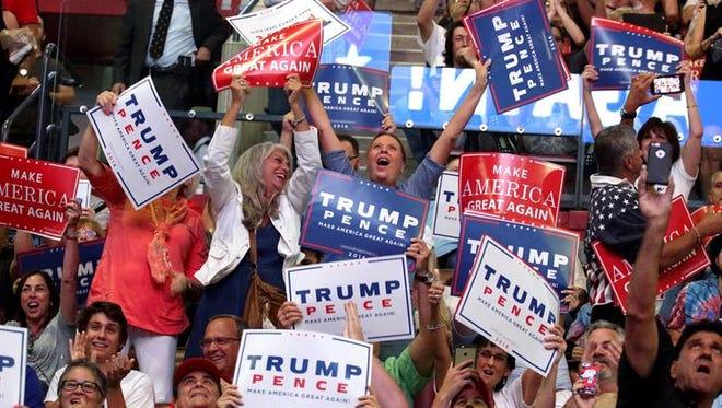 Los aspirantes a la Presidencia y los grupos que los apoyaron se gastaron 2.170 millones de dólares en la campaña que finalmente llevó al republicano Donald Trump a la Casa Blanca, según un estudio publicado hoy.