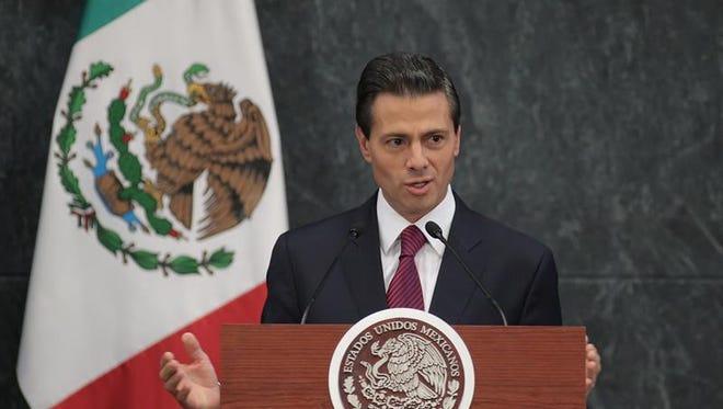 """El presidente de México, Enrique Peña Nieto, dijo hoy que su Gobierno no tolerará """"abusos"""" ni """"tropelías"""" aprovechando las protestas contra el alza de la gasolinas, que ha desencadenado actos vandálicos, y dijo comprender el """"enojo"""" de la ciudadanía ante una medida """"dolorosa"""" pero necesaria."""