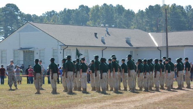 Camp Minden is one of three locations where the Youth Challenge Program takes place
