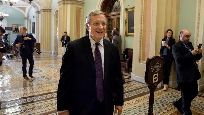 El senador demócrata Dick Durbin.