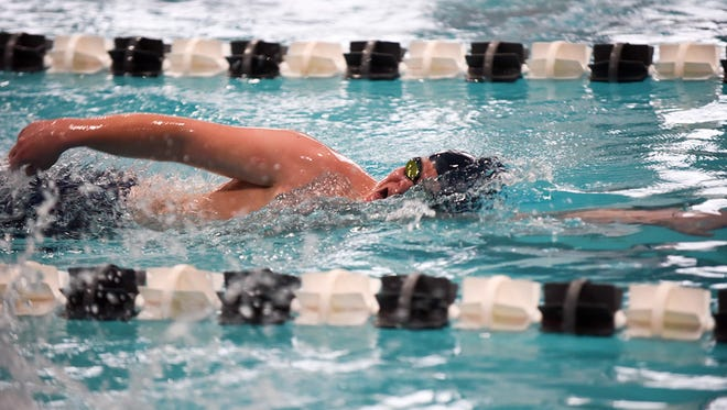 Asheville School hosted a meet on Jan. 17 against Tuscola.