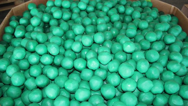 The U.S. Customs and Border Protection seized nearly two tons of marijuana mixed in with a shipment of key limes.