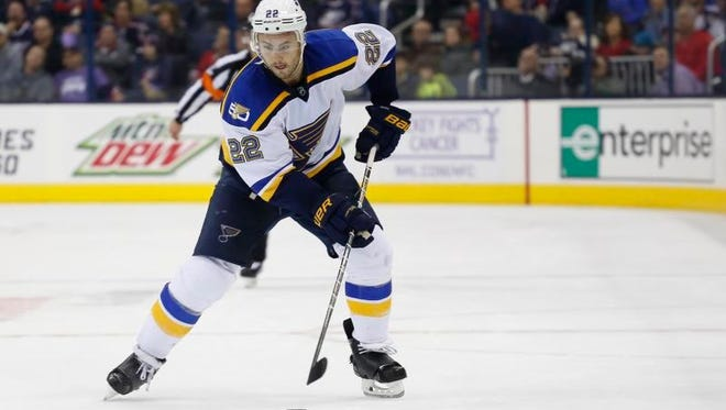 Kevin Shattenkirk was acquired by the Capitals in a trade with the Blues on Monday.