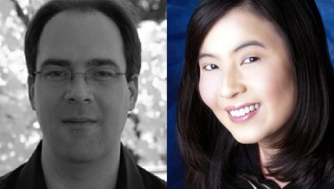 Dr. Jacob Clark and Dr. Sujung Cho will present a free piano concert Monday at MSU's Akin Auditorium.