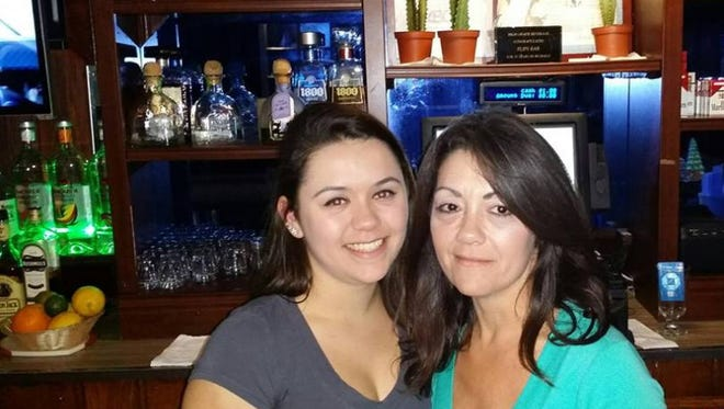 The late Marie Ann Verzillo, right, with her daughter Samantha Rokoszak. A GoFundMe page was started to help Verzillo's family cover costs of the funeral, rent, and other expenses.