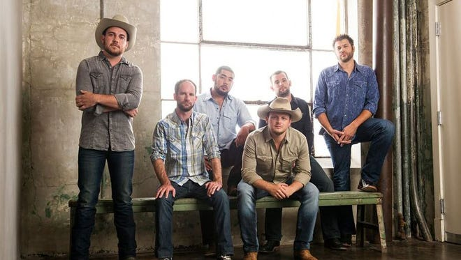 Josh Abbott Band will perform at Concrete Street Amphitheater Oct. 15, 2017.