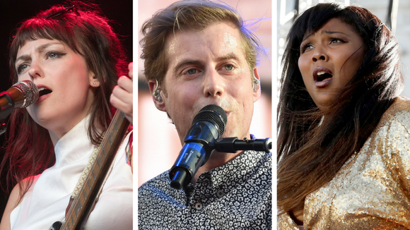 Angel Olsen, Andrew McMahon and Lizzo are three artists